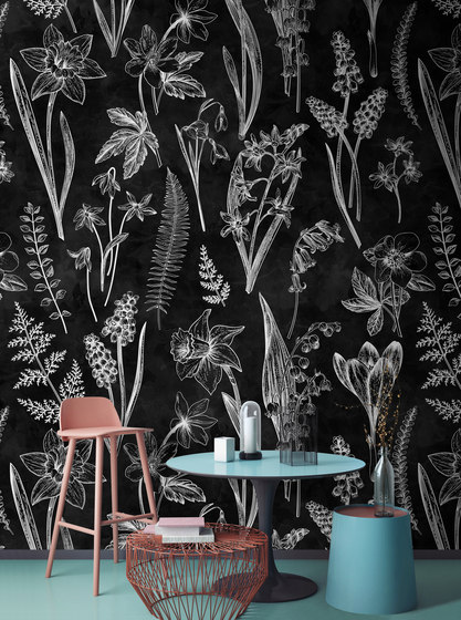 Walls By Patel | Wallpaper Blackboard 2 by Architects Paper