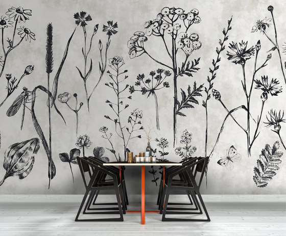 Walls By Patel | Wallpaper Sketchpad 2 by Architects Paper