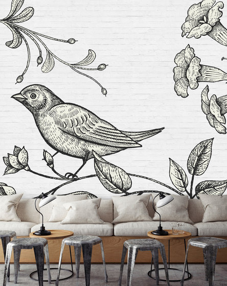 Walls By Patel | Birdy 3 by Architects Paper