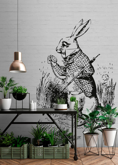 Walls By Patel | Wallpaper Bunny 2 by Architects Paper