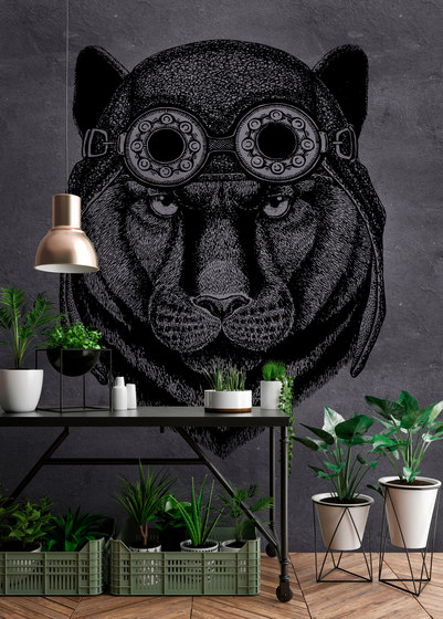Walls By Patel  Wallpaper Panther 1 by Architects Paper