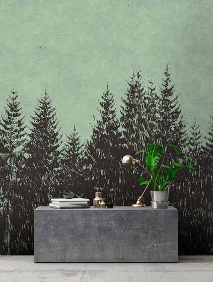 Walls By Patel| Wallpaper Black Forest 1 by Architects Paper