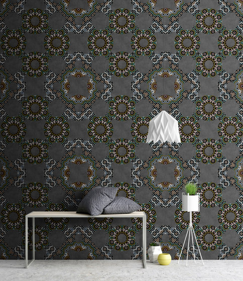 Walls By Patel| Wallpaper Graphite 1 by Architects Paper