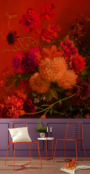 Walls By Patel | Wallpaper Bouquetvibran 2 di Architects Paper