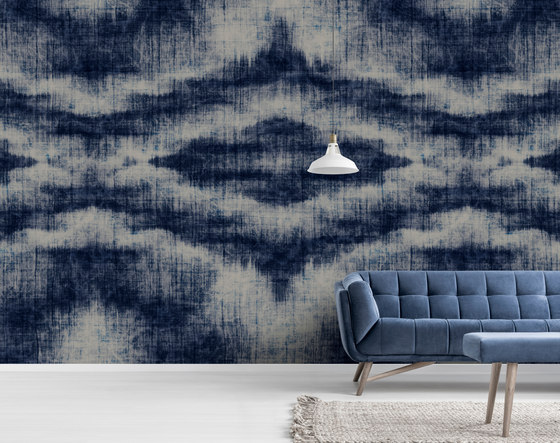 Walls By Patel | Wallpaper Indigo Canvas 2 de Architects Paper