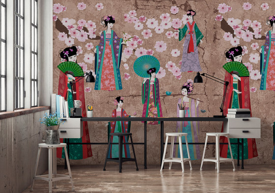 Walls By Patel | Wallpaper Kimono 2 by Architects Paper