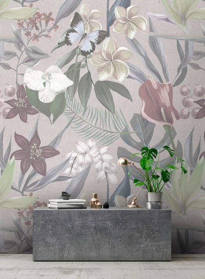 Walls By Patel | Wallpaper Orchid Garden 1 di Architects Paper