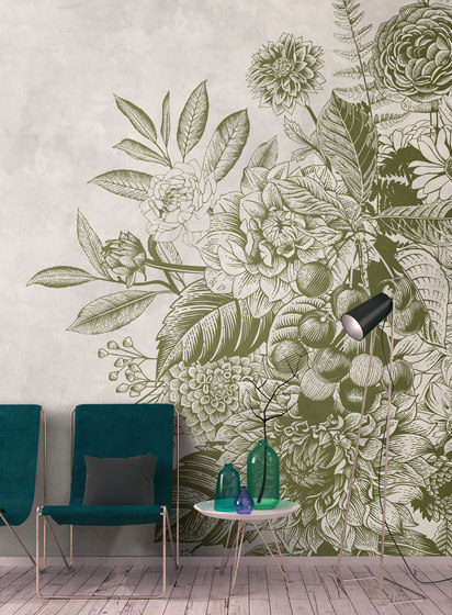 Walls By Patel | Wallpaper Greenery 2 di Architects Paper