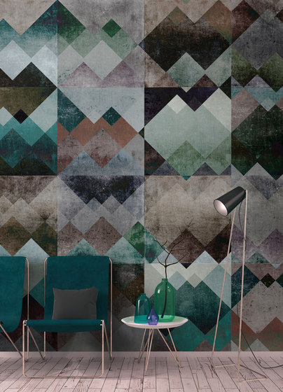 Walls By Patel| Wallpaper Zigzag 2 by Architects Paper