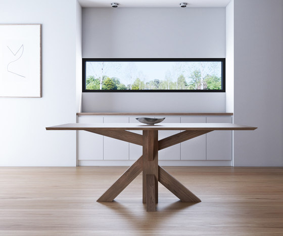 Ki RECTANGULAR DINING TABLE de Karpenter