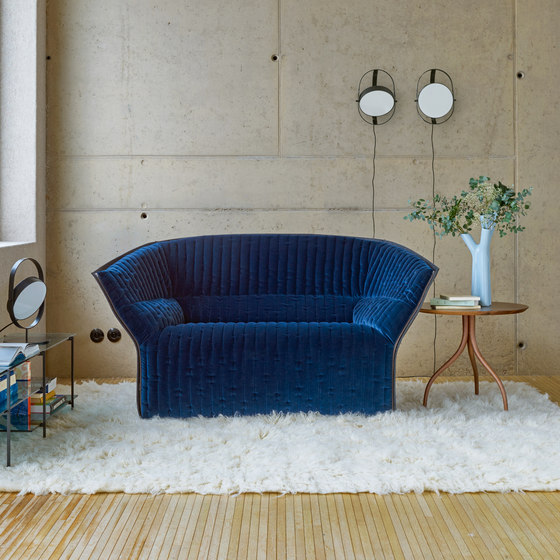 Moel 2 | Armchair - Original Quilting Low Back Exterior Of Back In Felt by Ligne Roset