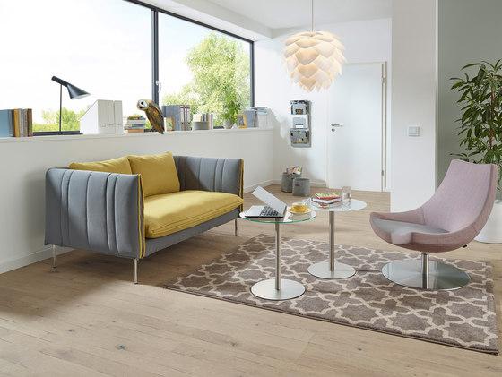 FourtyTwo | 2-sitzer | niedriger Rücken von SMV Sitz- & Objektmöbel