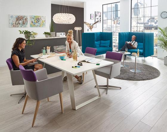 FourtyTwo | hoher Rücken von SMV Sitz- & Objektmöbel
