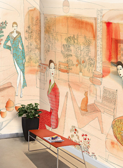 Interior and fashion in Japan by WallPepper