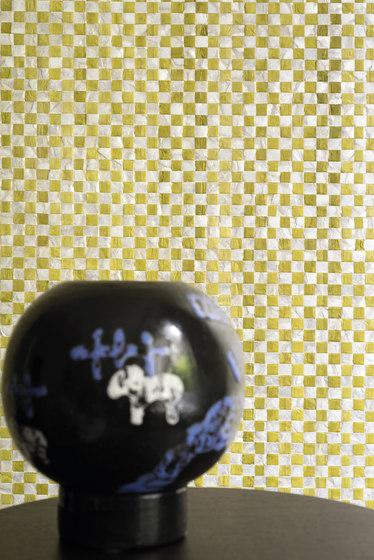 Costa verde | Nacre vichy RM 675 82 di Elitis