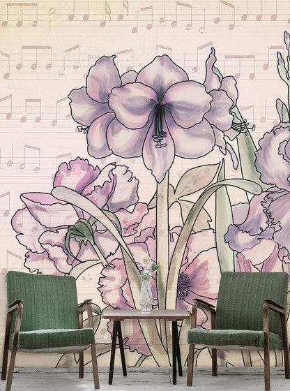 Musical Iris de WallPepper