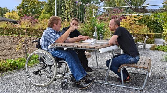 Landi Inclusion bench by BURRI
