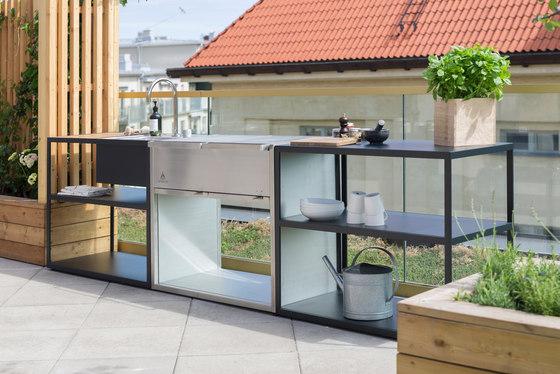 Garden Kitchen | Trolley de Röshults