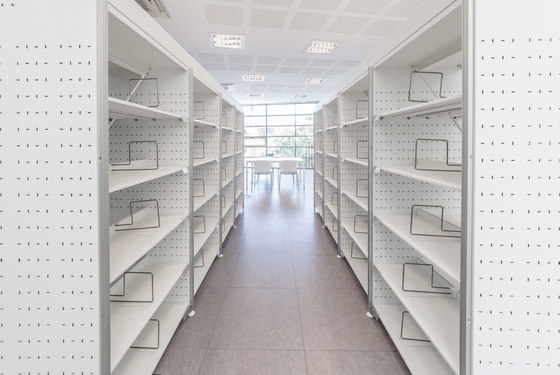 Marciana Library Shelving by Guialmi