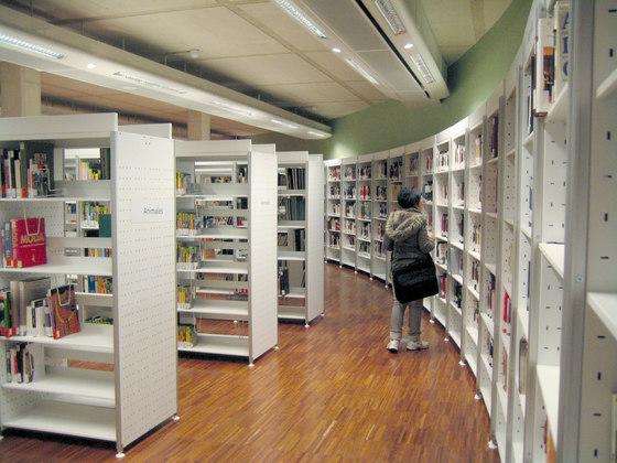 Marciana Library Shelving by Guialmi