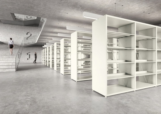 V2 Library Shelving by Guialmi