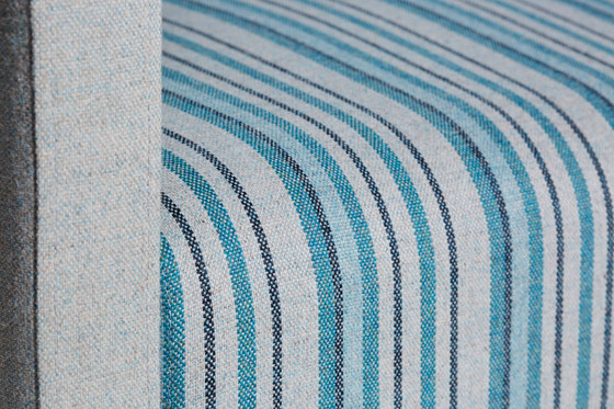 Main Line Flax Stripe Northern by Camira Fabrics