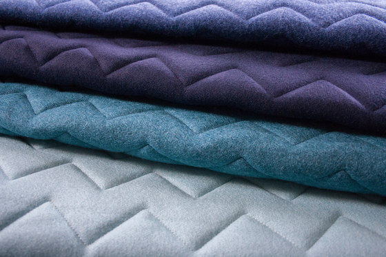Synergy Quilt Chevron Mix by Camira Fabrics
