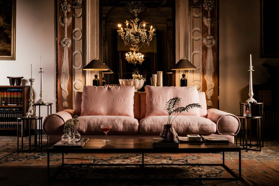 Sebastian Sofa by black tie