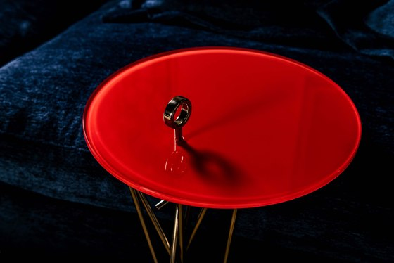 Tao side table de black tie