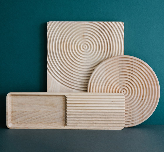 Gareth Neal Boards | Petal Chopping Board by Case Furniture