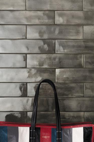 Brickell Grey Round Mosaico Matt di Fap Ceramiche