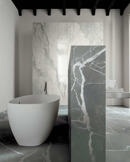 Stones & More 2.0 | stone burl white by FLORIM