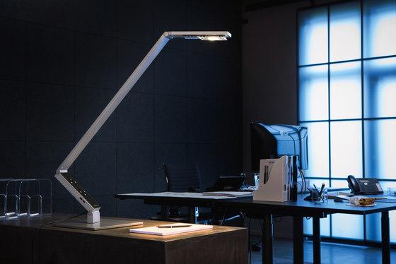 TABLE PRO RADIAL aluminium de LUCTRA