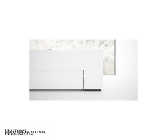 CAMA I-I edición especial - Lacado piano blanco de Rechteck