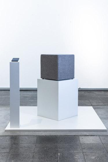 Acoustic seating cube de AOS