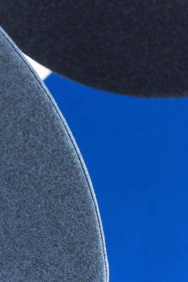Wall absorber 50/65 round digitally printed, frameless de AOS