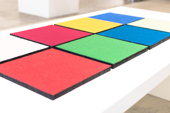 Acoustic tiles PUR12 by AOS