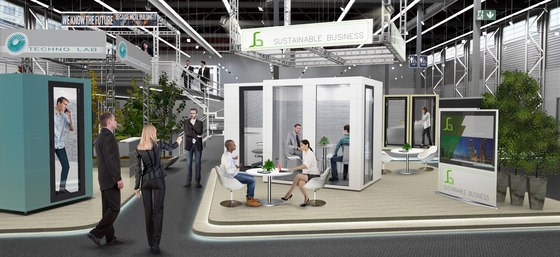 meeting booths | focus spaces by STUDIOBRICKS