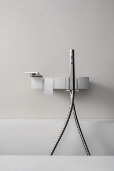 Emotion 5 mm single-lever basin mixer, flush-mounted 170, long lever by CONTI+