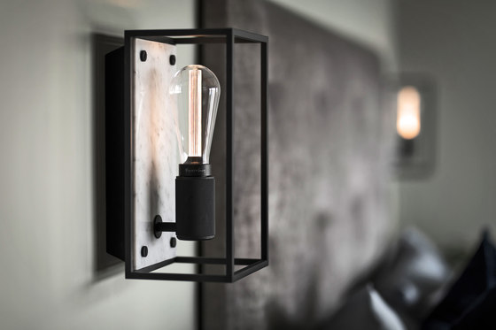 Caged Wall 1.0 Large | Brushed Steel | Buster Bulb Tube by Buster + Punch