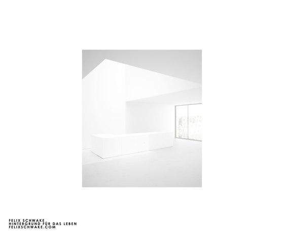 ESCRITORIO III edición especial - Lacado piano blanco de Rechteck