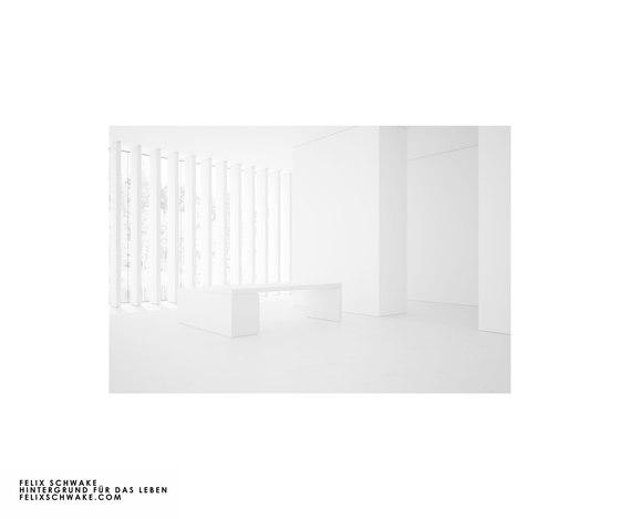 SCRIVANIA IV-I-I edizione speciale - Lacca per piano bianca di Rechteck