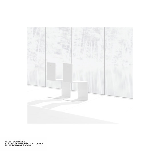 SILLA I edición especial - Lacado piano blanco de Rechteck