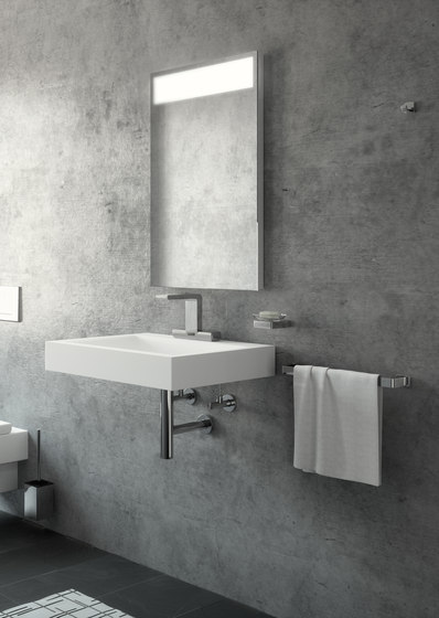 Senso lavatory faucet, with IR-sensor, with electronic mixing by CONTI+