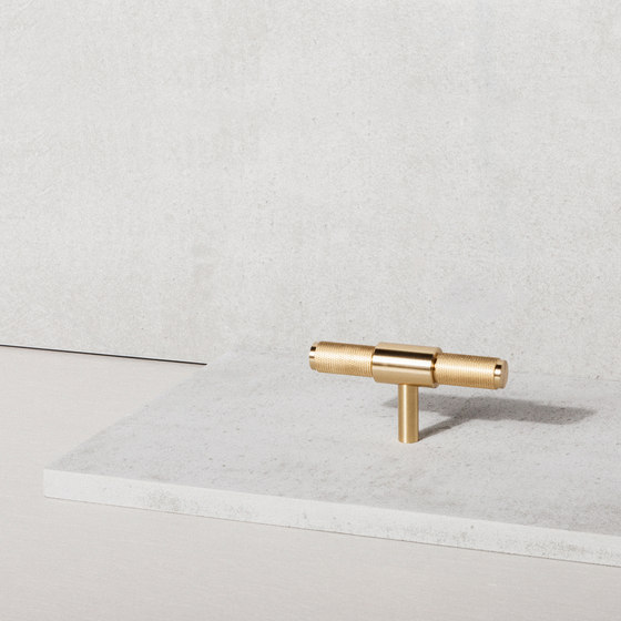 T Bar | Nude | Brass by Buster + Punch