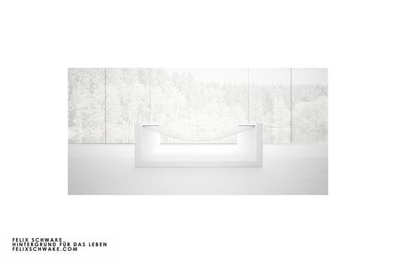 SILLA V edición especial - Lacado piano blanco de Rechteck