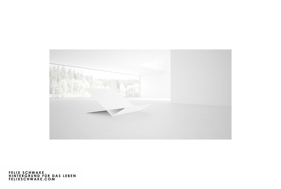 CHAIR VI special edition - Piano lacquer white by Rechteck