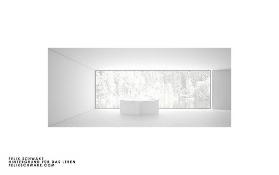 TAVOLO IV edizione speciale - Lacca per piano bianca di Rechteck