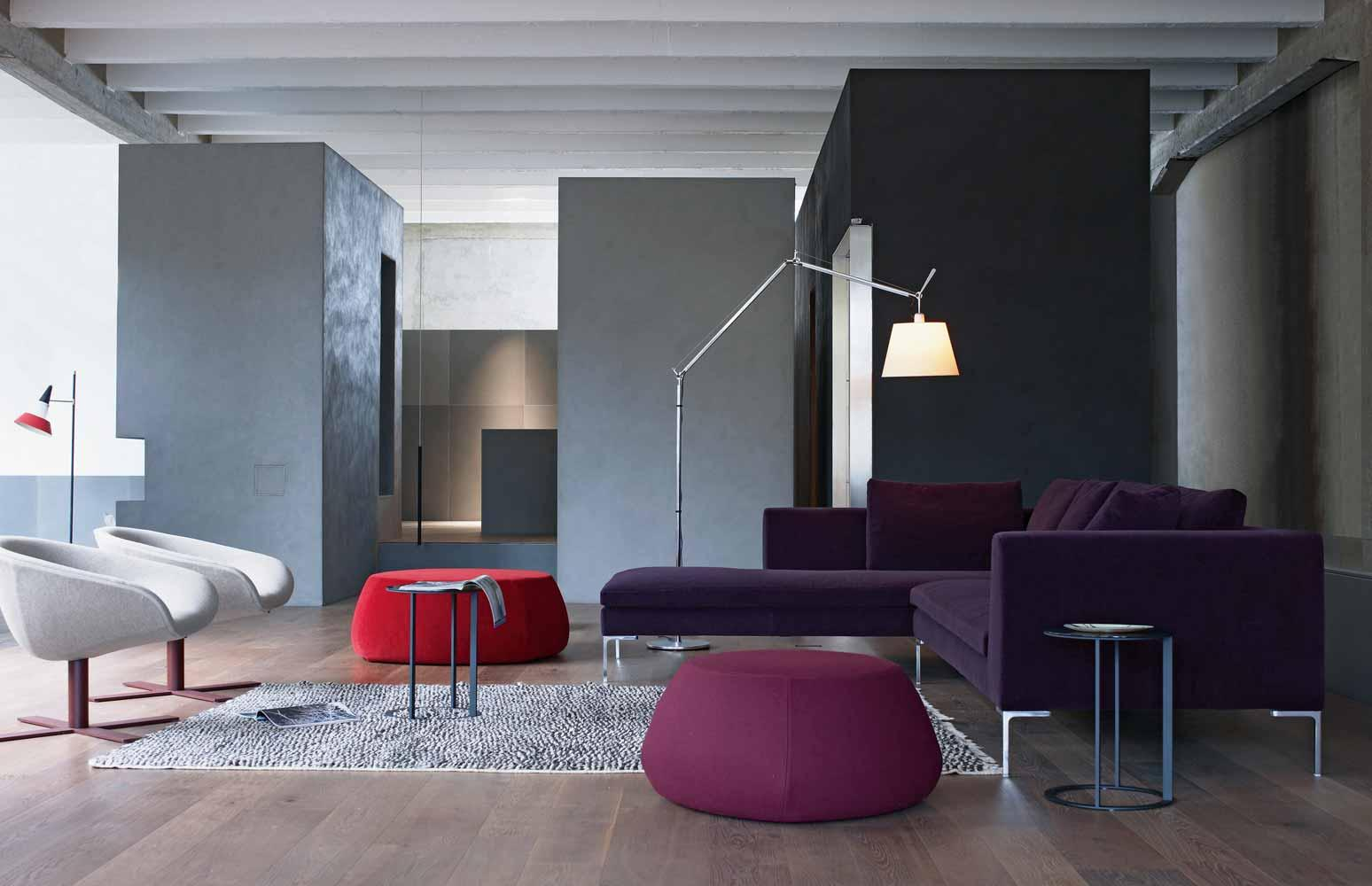 Charles ch228 sofas from b b italia architonic for B and b italia