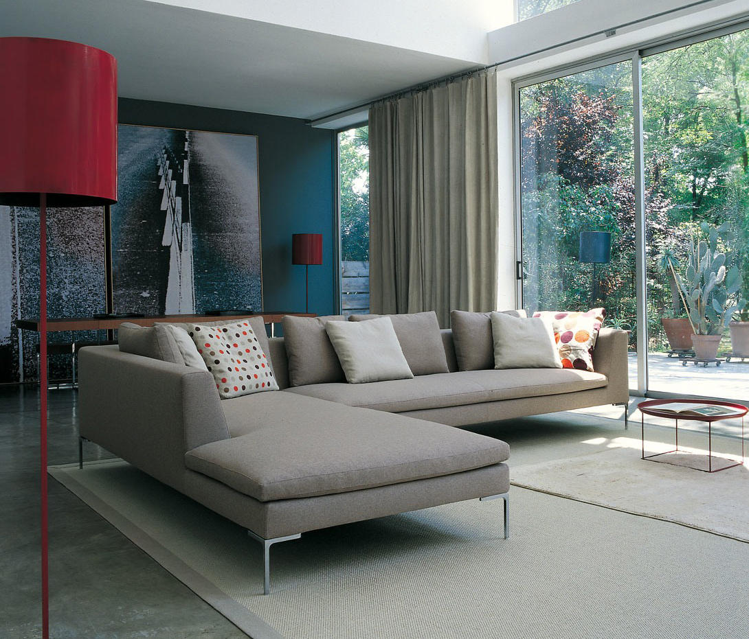 Charles sofas from b b italia architonic for B and b italia